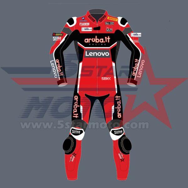Scott Redding Leather Suit MotoGp 2020 Custom Made