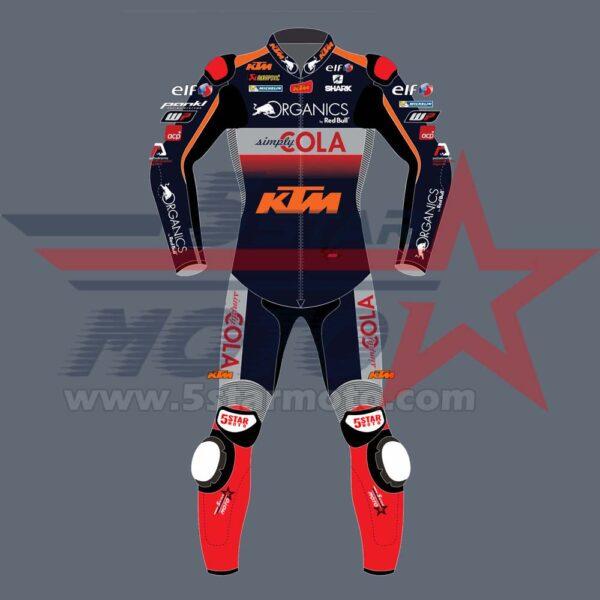 Miguel Oliveira Leather Suit KTM MotoGp 2020 Custom Made