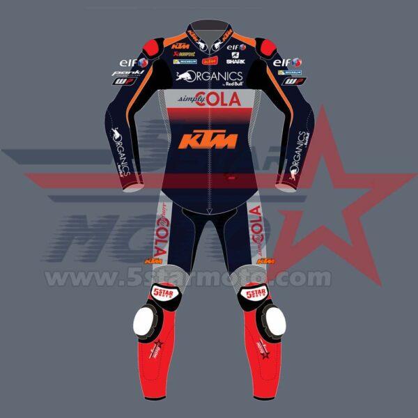 Iker Lecuona Leather Suit KTM MotoGp 2020 Custom Made